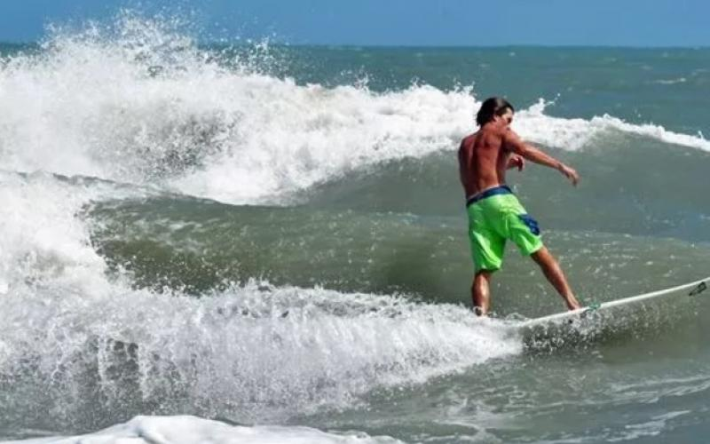 Hurricane Jose Bring 10 Foot Waves to Cocoa Beach - A Surfers Dream